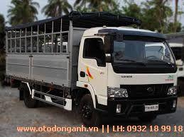 mẫu thùng mui bạt Xe tải Hyundai VT650