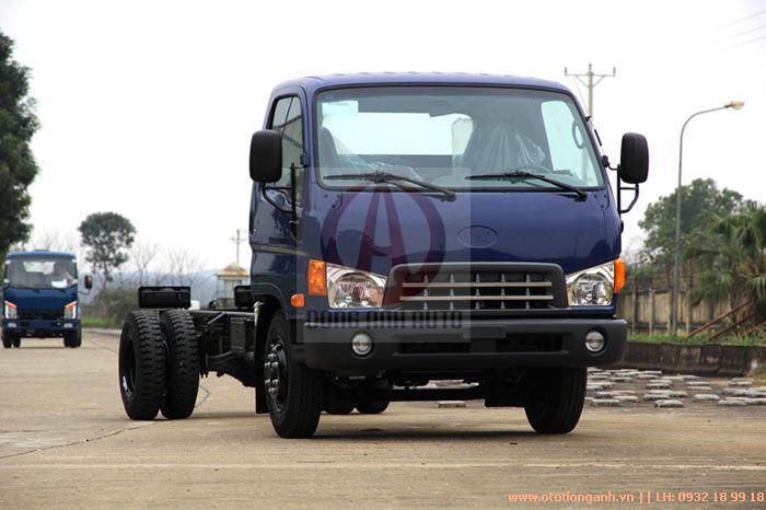 mặt trước xe tải Hyundai HD800