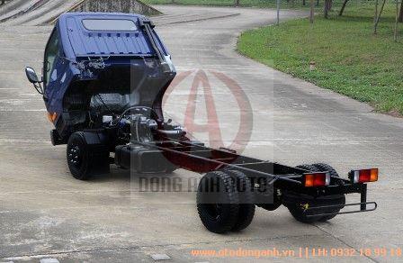 mặt hông xe tải Hyundai HD800