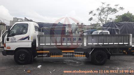 mẫu thùng lửng xe tải Hyundai HD800