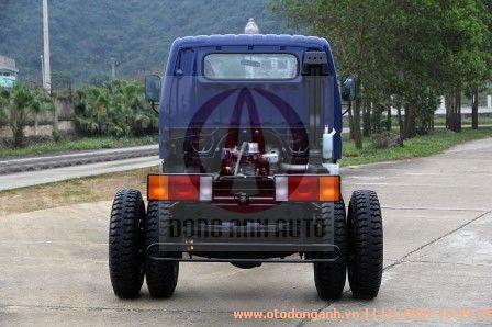 mặt sau xe tải Hyundai HD800