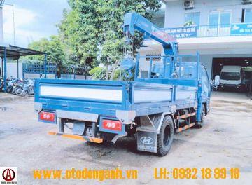 Xe tải Đô Thành iz49 1t6 gắn cẩu