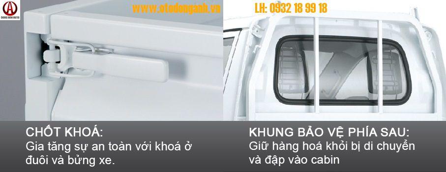 Xe Tải Suzuki Carry Truck 550Kg Thùng Đông Lạnh