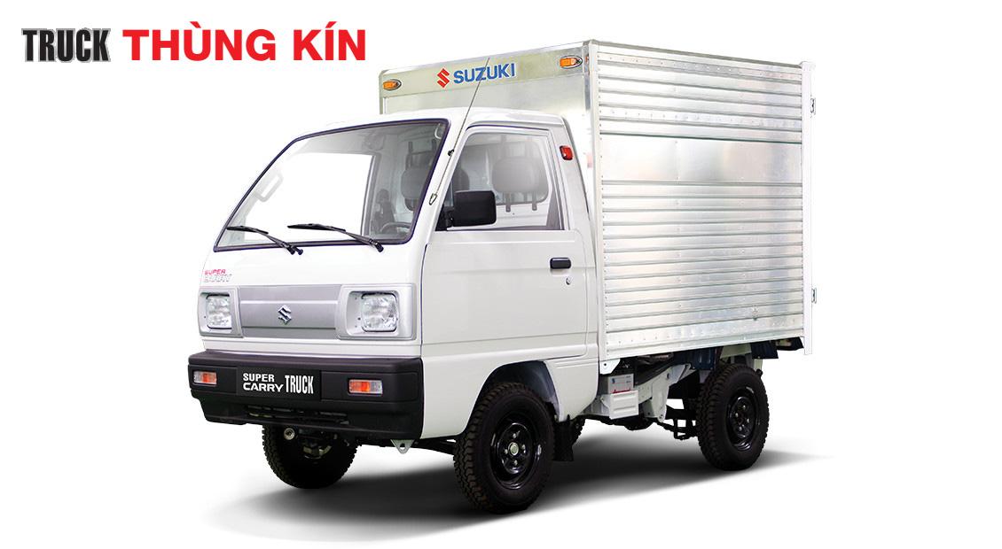 Xe Tải Ben Suzuki Truck - 550kG chở vật liệu xây dựng