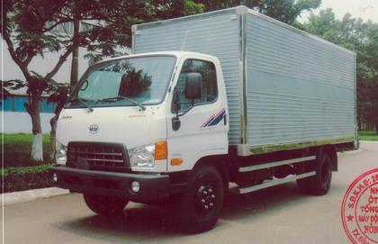mẫu thùng kín xe tải Hyundai HD800