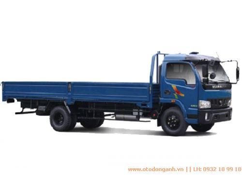 ngoại thất xe tải Veam VT751 thùng lửng