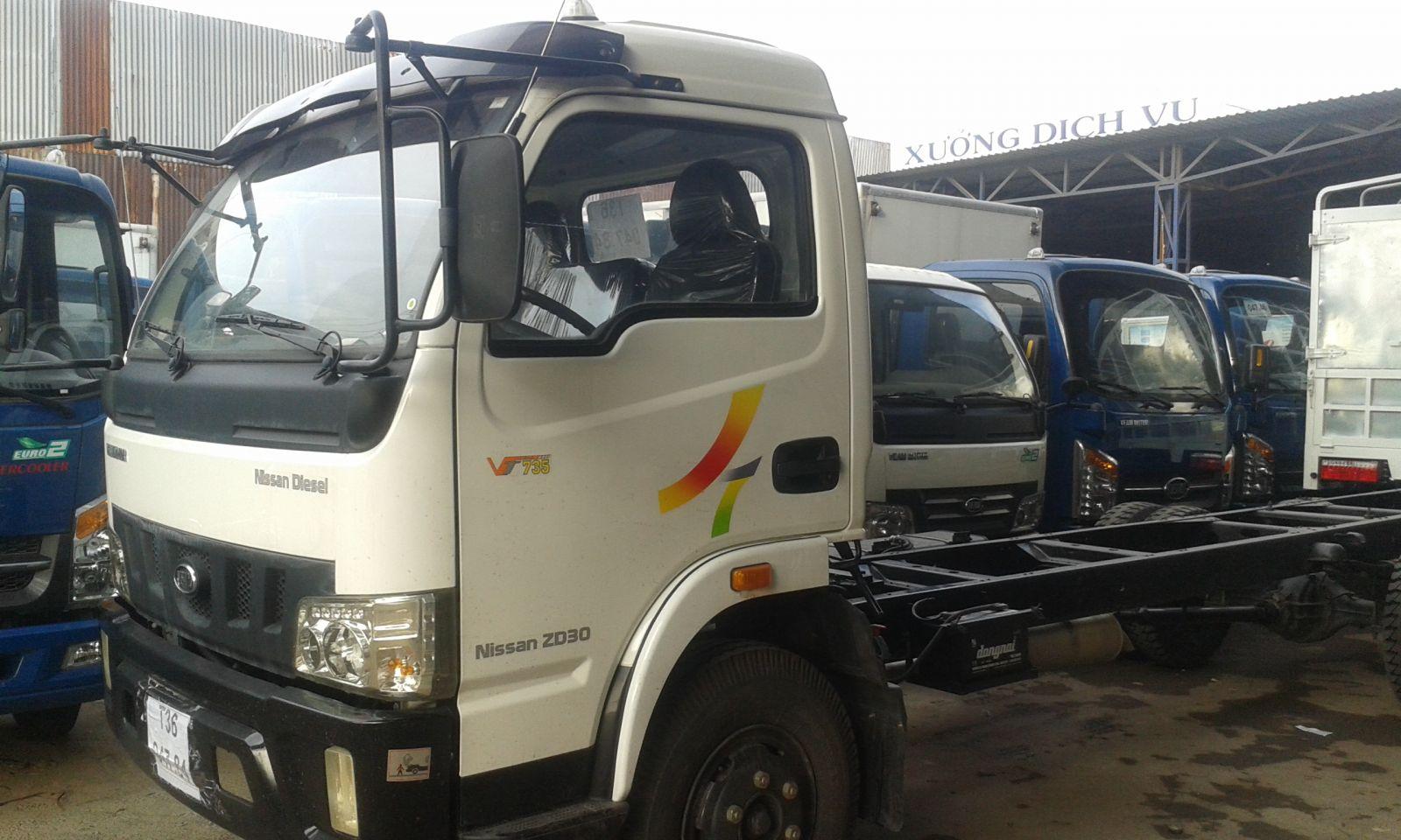 Xe tải Veam 7,5 tấn VT735