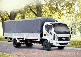 mẫu xe tải Hyundai VT751 thùng mui bạt