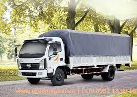 Xe Tải Veam VT751 - 7T5 Thùng Bạt