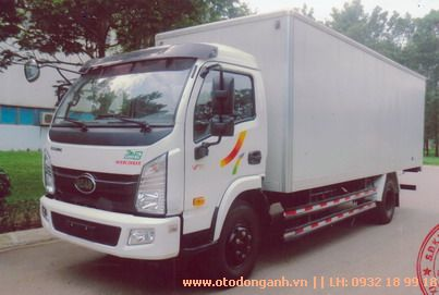 mẫu xe tải Hyundai VT751 thùng kín