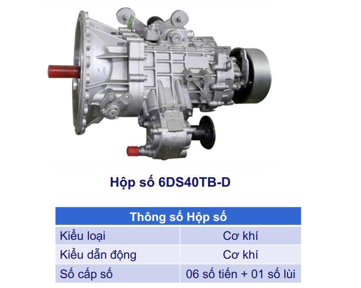Động cơ xe ben Veam 6,5 tấn VB653