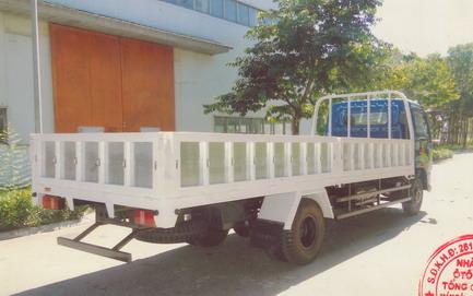 ngoại thất xe tải Veam VT650
