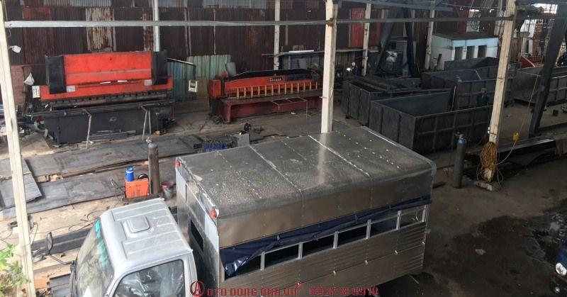 xưởng đóng thùng xe tải