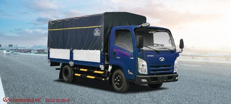 xe tải iz65 mui bạt