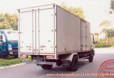 Xe Tải Veam VPT700 - 7 tấn Thùng Kín