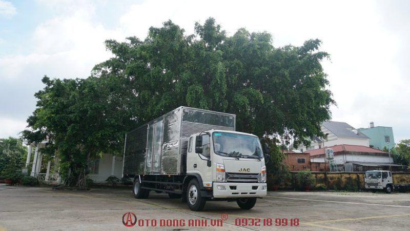 Xe tải Jac N800, xe tải Jac N900 thùng mui bạt